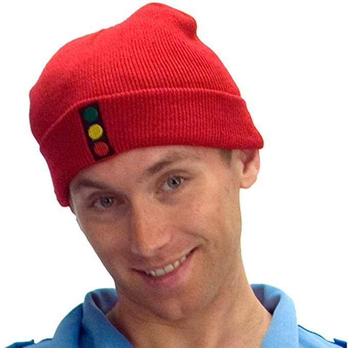2b8f69ba81f3b3 MyPartyShirt The Life Aquatic with Steve Zissou Traffic Light Knit Hat Red:  Amazon.ca: Clothing & Accessories