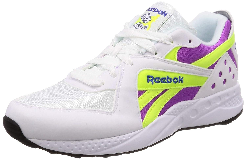 Pyro, Reebok jaune Blanc violet neon jaune, blanc violet