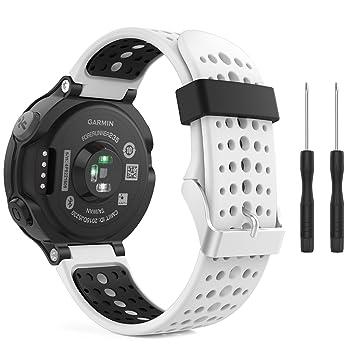 Amazon.com: MoKo Garmin Forerunner 235 Watch Band, Soft Silicone