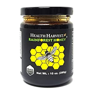 Tualang Black Honey 10oz | Multiple Awards-Winning | Total Activity 10+ | Pollen 100+ | Intense Choice for Therapy & Rehabilitation | From Tropical Rainforest Heritage of Sumatra