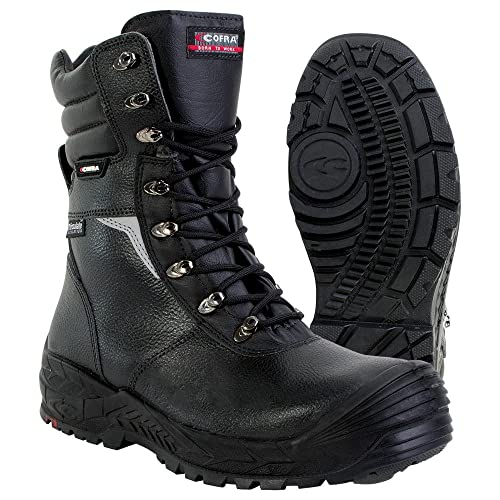 40f2a123103 Cofra Safety Lace Up Boot Zip Bragi S3 CI HRO SRC EN 20345 Size 12 ...