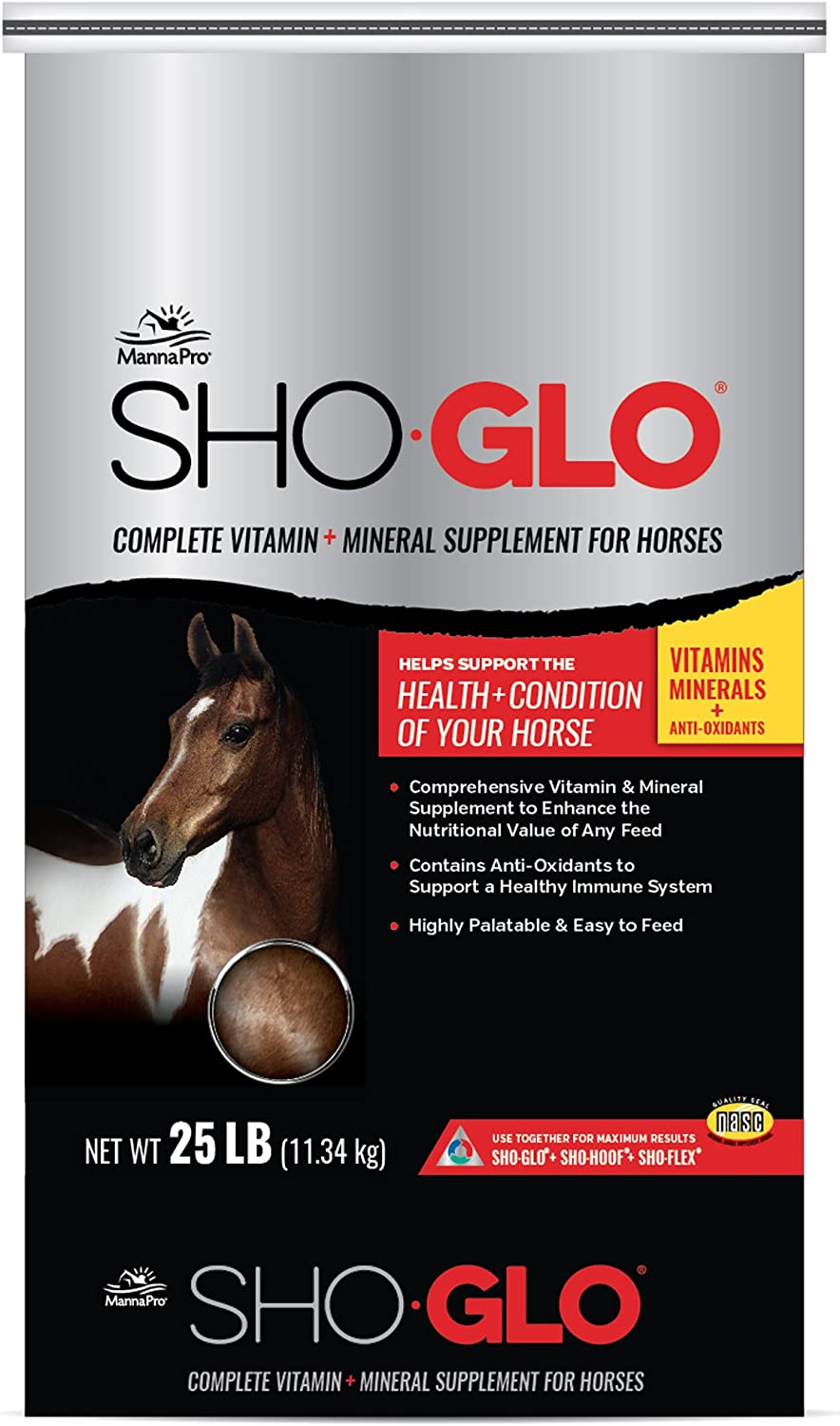 Manna Pro Sho-Glo Supplement, 25-Pounds