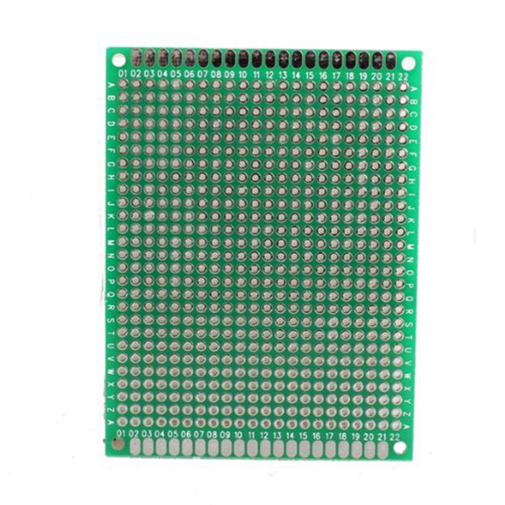 amazon com 5pcs 6x8cm double side prototype pcb universal printedamazon com 5pcs 6x8cm double side prototype pcb universal printed circuit board electronics