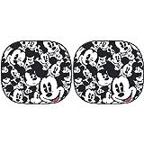 Plasticolor 003780R01 Disney Mickey Expressions Magic Spring Sunshade, 2 Piece