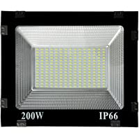 Gesto 200 Watt Ultra Thin Slim Ip66 LED Flood Outdoor Light Cool White Waterproof- 200W