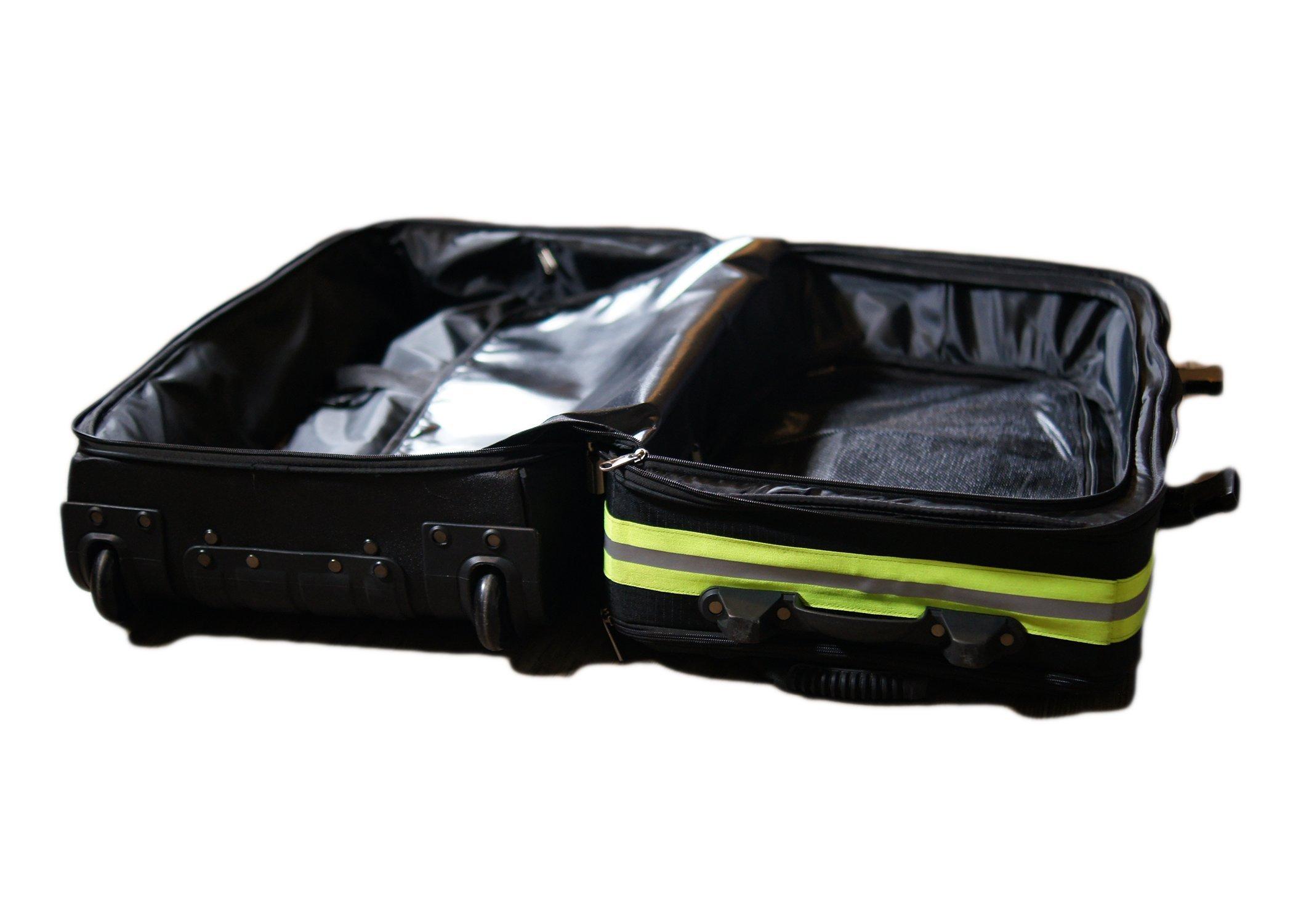 Fireflex Firefighter Rolling Travel Bag (Black) by Firefighters Merchandise (Image #5)