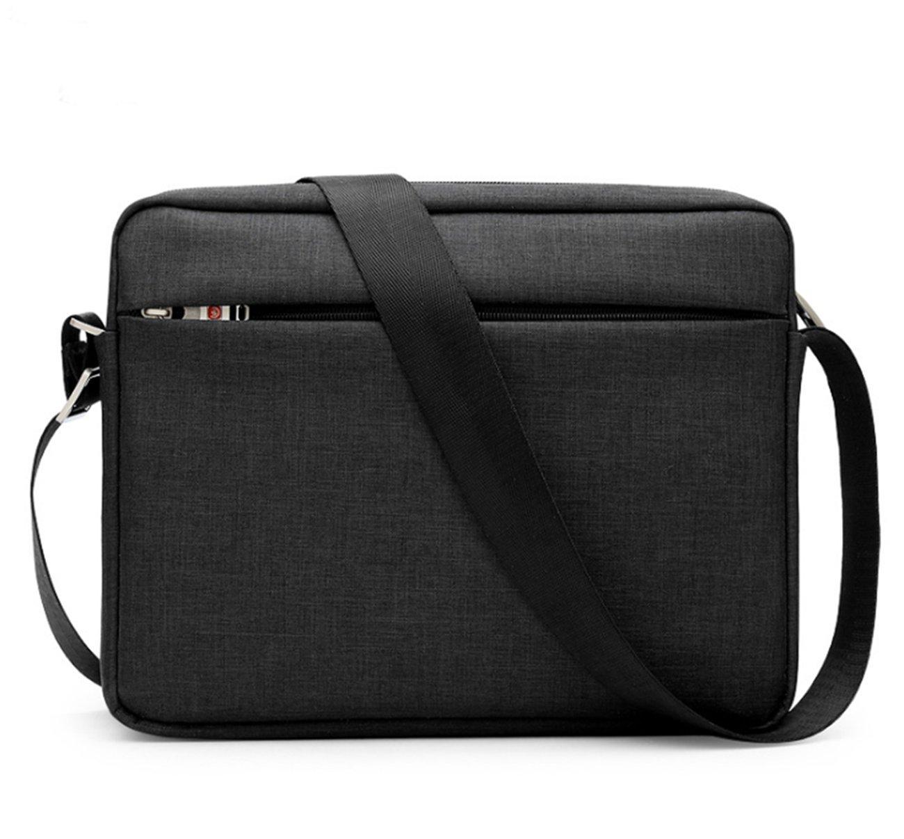 Amazon.com  Small Crossbody Bag Tactical Ipad Messenger Bag 11 Inch Tablet Shoulder  Bag (Black)  Shoes 48c8940c7d43f