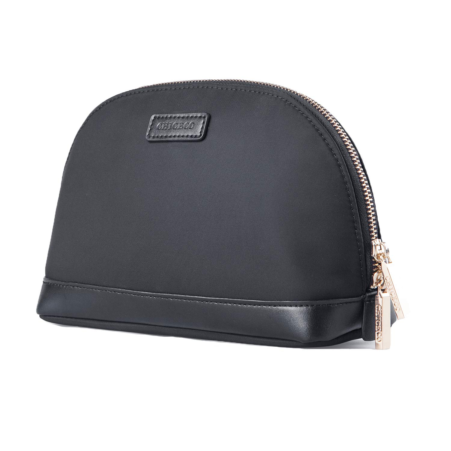 CHICECO Large Makeup Bag Toiletry Bag for Women Skincare Cosmetic Pouch (Black2 / Medium-Large)
