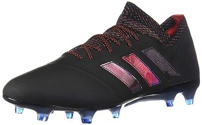da8e92935450 adidas Nemeziz 18.1 FG Cleat - Men's Soccer Core Black/Football Blue