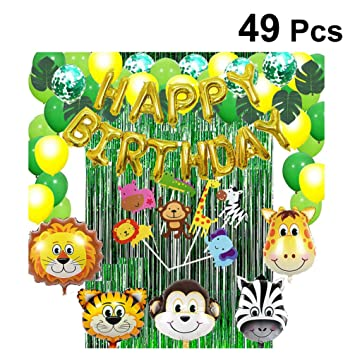 Amosfun 49 Piezas decoración de la Fiesta de cumpleaños de ...