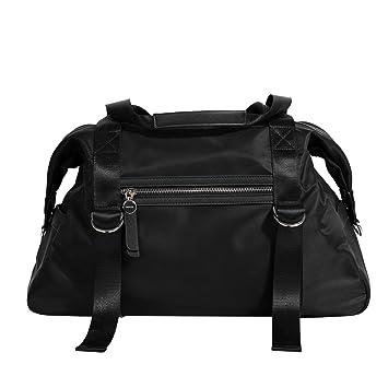 44b9ed4c9 Parfois - Adele Gym Bag - Women - Size M - Black: Amazon.co.uk: Luggage