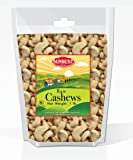 SunBest Natural Whole Cashews Raw, Unsalted, Unroasted in Resealable Bag (Whole, 1 Lb)