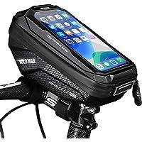 Faneam Bike Frame Bag Waterproof Top Tube Cycle Handlebar Bag Large-Capacity Reflective Reminder Bike Pouch Bag, Bike…