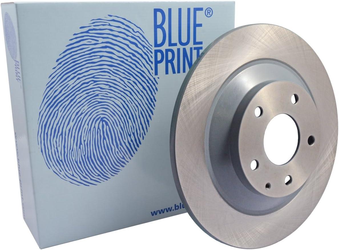 Blue Print ADM543124 Brake Disc Set No of Holes 5 2 Brake Disc rear full
