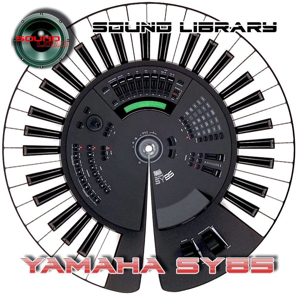 YAMAHA SY-85 Huge Sound Library & Editors on CD