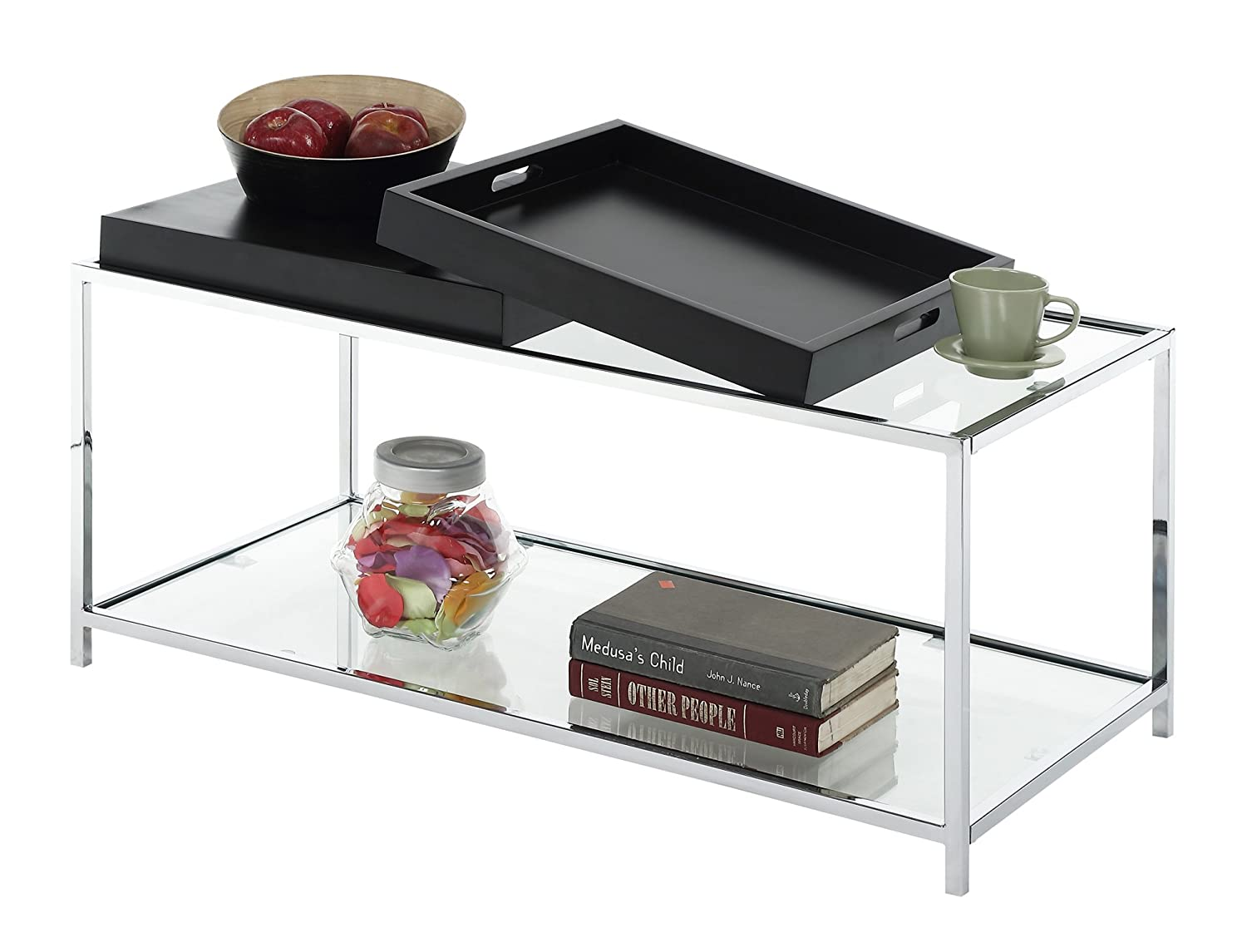 Amazon convenience concepts palm beach coffee table black amazon convenience concepts palm beach coffee table black kitchen dining geotapseo Image collections
