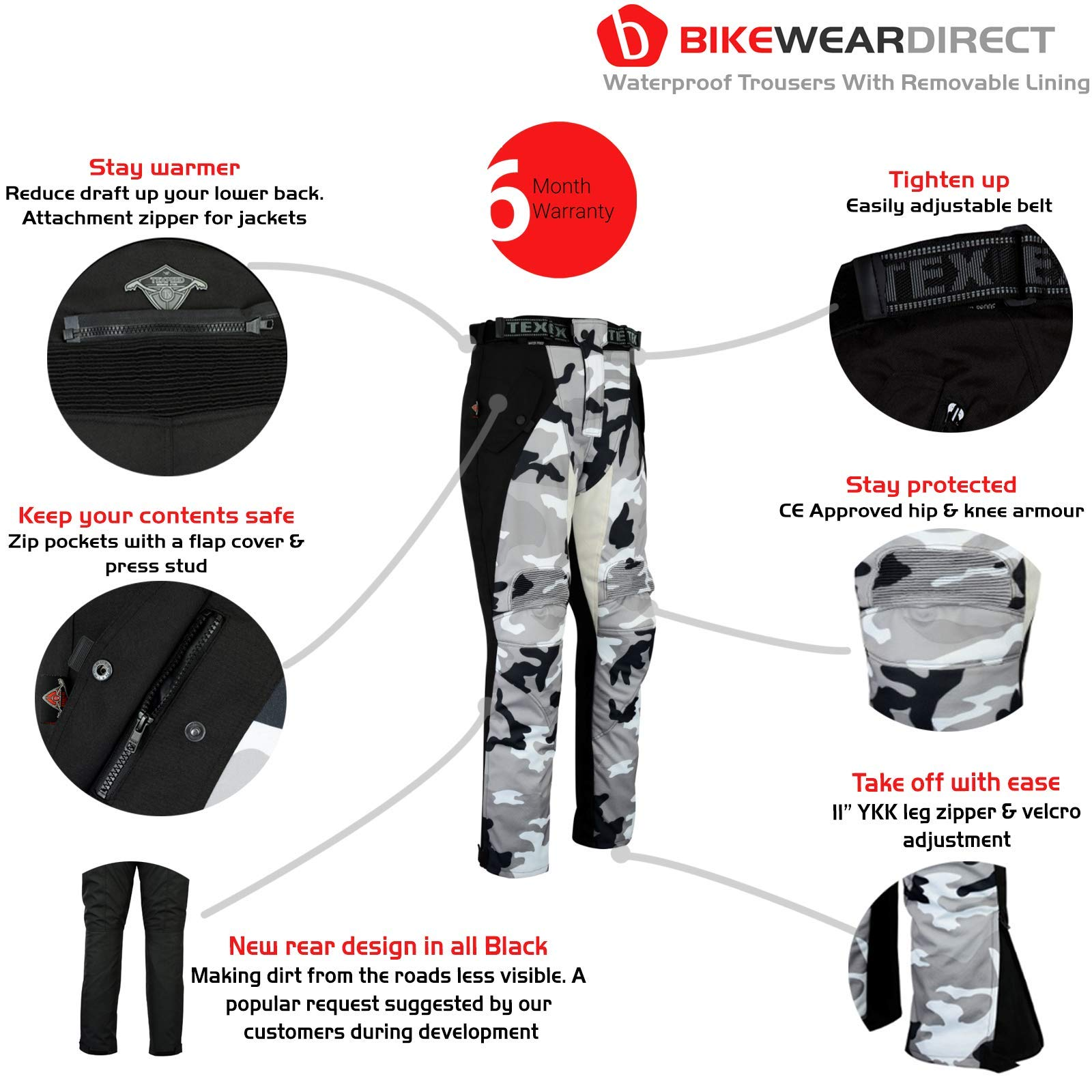 Mens Motorcycle Motorbike Safety Protective Lining Armour Biker Padded Kevlar Denim Jeans Trousers With Free Padding