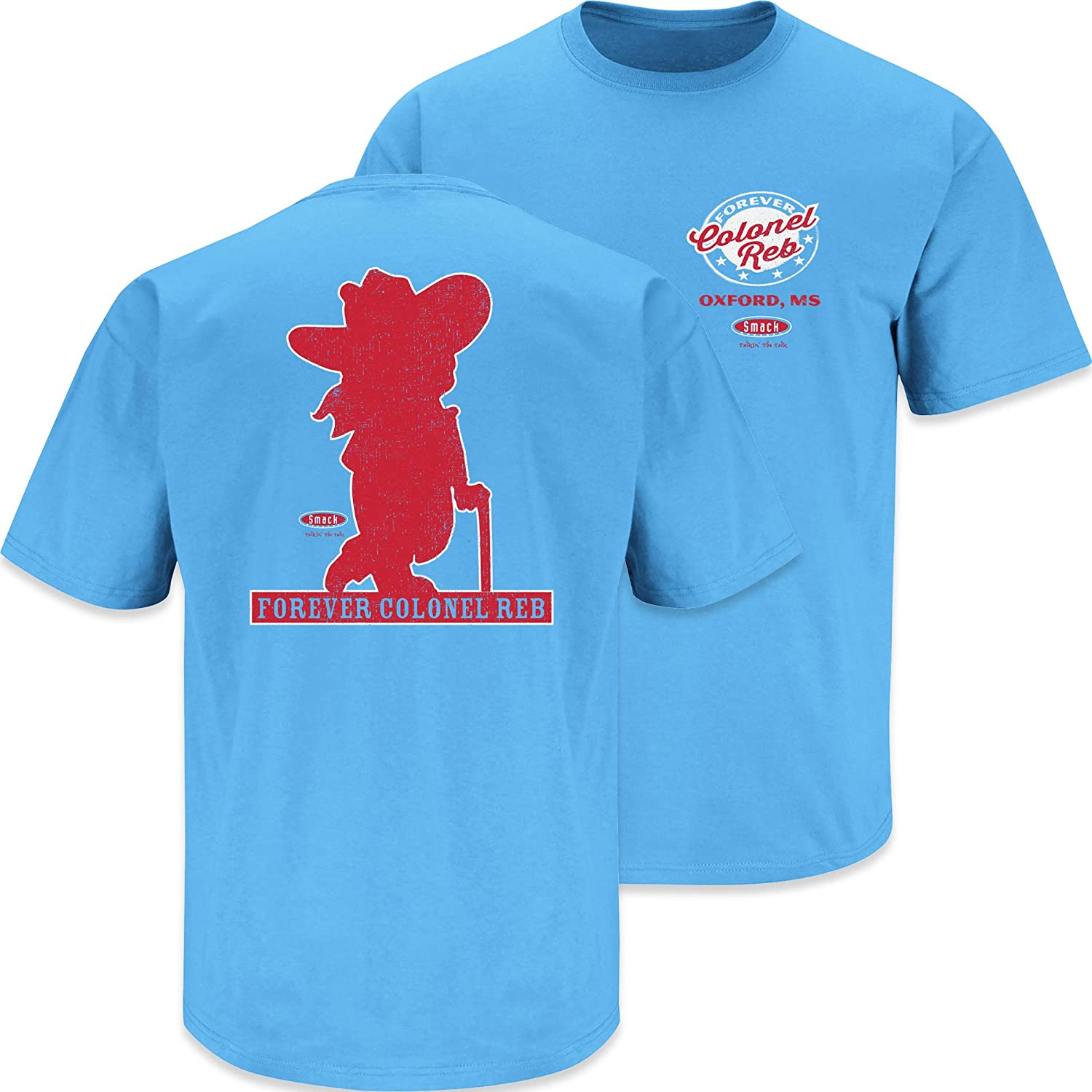 Forever Colonel Reb T Shirt Sm-5X Ole Miss Football Fans or Sticker