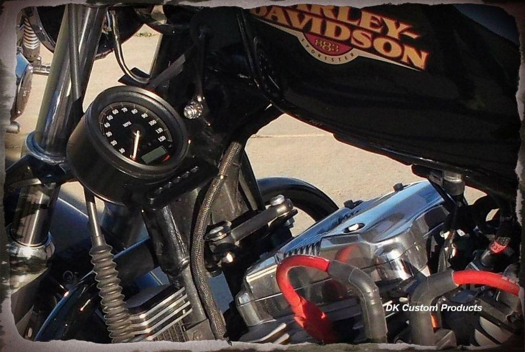 Gauges DK Custom Products Harley Sportster Speedometer