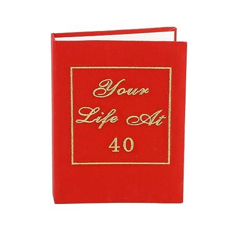 Amazon.com: Tu Vida álbum para fotos para 40. Cumpleaños Por ...