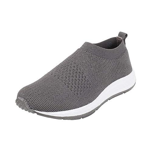 Metro Boys Grey Synthetic Flat Shoes