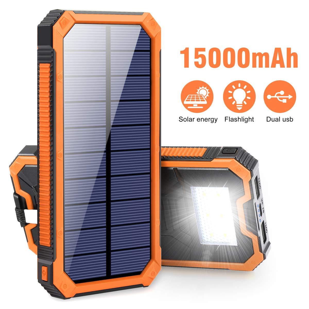 Elzie Solar Portable Power Bank