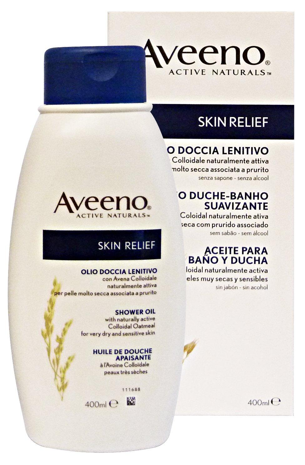 Aveeno Skin Relief Shower Oil 400ml Johnson & Johnson
