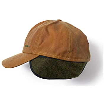 d8dcc27b5e91 Amazon.com: Filson Mens Insulated Tin Cloth Cap (Tan, Large) 60068: Sports  & Outdoors
