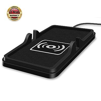 Polmxs - Cargador inalámbrico para teléfono móvil qi con ...