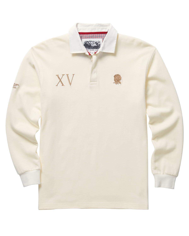 Algodón Traders de manga larga camiseta de Rugby Inglaterra para ...
