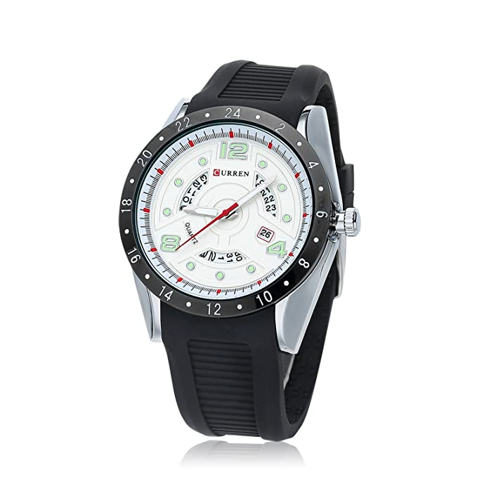 ZHANGZZ Hermoso Reloj Curren, 8142 Reloj de Calendario Reloj para ...