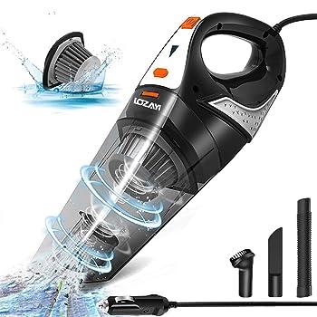 LOZAYI 5000PA Wet Dry Handheld Vacuum Cleaner