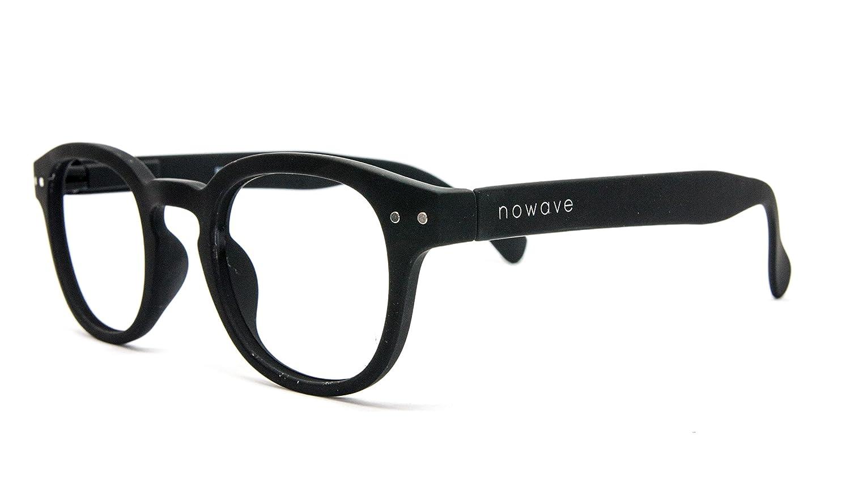 f4a7517509 Unisex,ligera y negra St.Lucy NOWAVE Gafas Neutras para PC Gafas ANTI LUZ  AZUL y ...