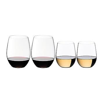 b510b6d3b77 Amazon.com   Riedel The O Cabernet/Merlot and Viognier/Chardonnay ...
