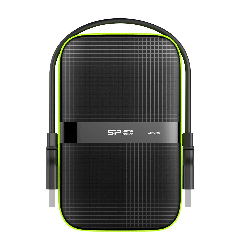 Silicon Power - Disco Duro Externo portátil para PC y Mac Armor A80 DE 1 TB (2.5