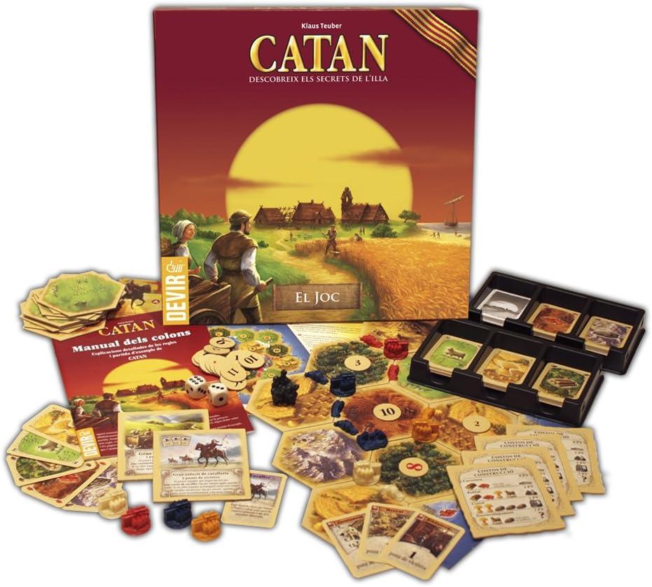 Devir - Catan, juego de mesa - Idioma catalán (BGCAT): Amazon.es ...
