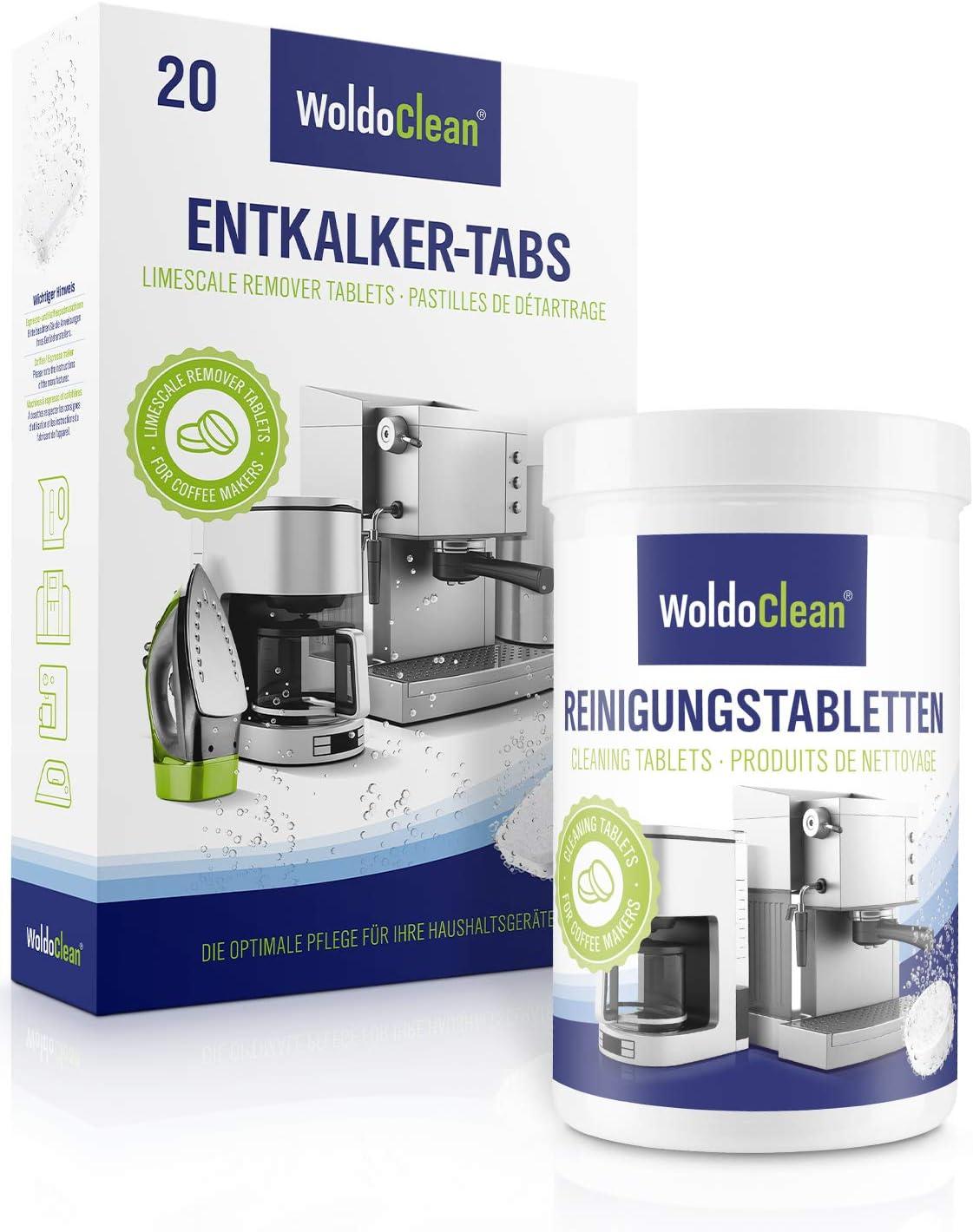 200 Reinigungstabletten 15mm Ø für Kaffeevollautomaten z.B Krups