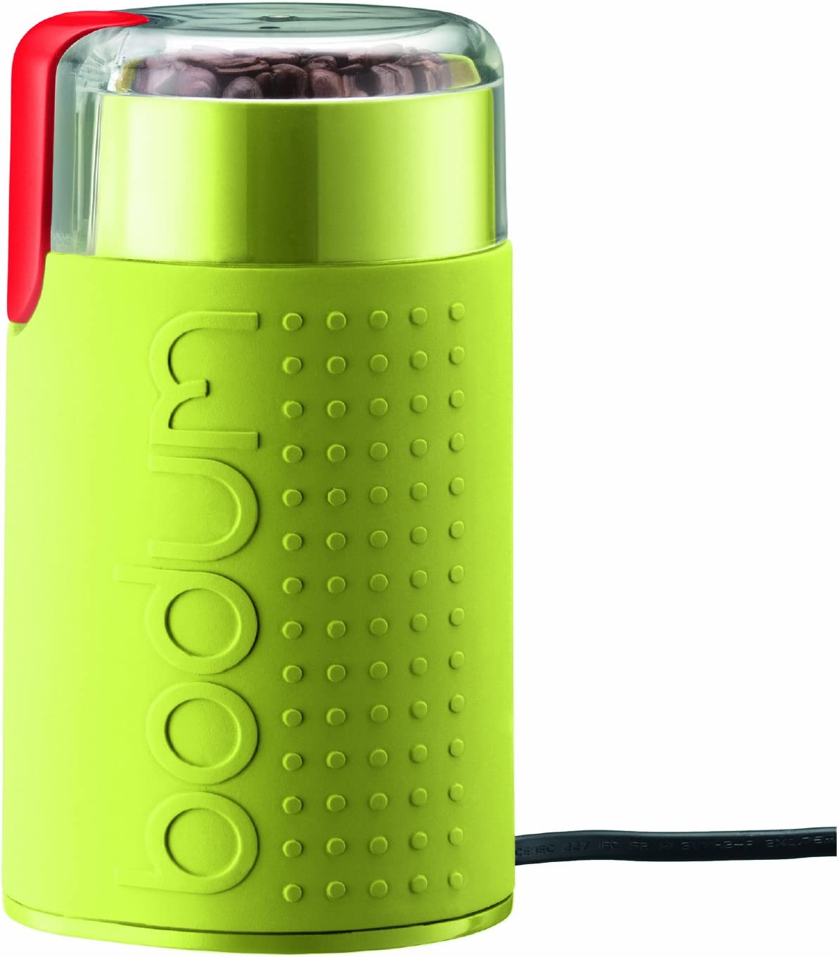 Bodum Bistro Electric Coffee Grinder Holds 60 G Of Beans Lime Green