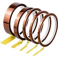 Kapton Tape Hittebestendig plakband elektronica zelfklevende isolatietape hoge temperaturen capton tape 3 mm 5 mm 6 mm…