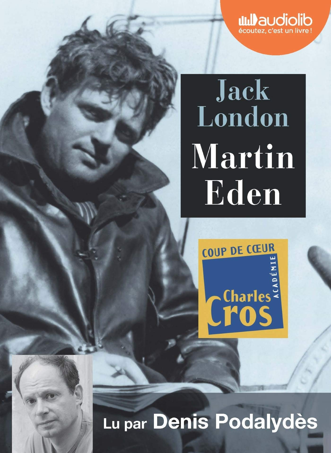 Martin Eden Livre Audio 2 Cd Mp3 London Jack