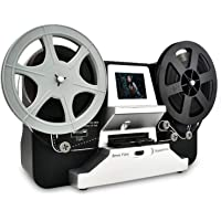 """Super 8 Roll Film & Regular 8 Roll Film Reels Scanner(5""""&3"""") Digital Vido Scanner and Movie Digitizer for 8mm/S8 mm Film…"""