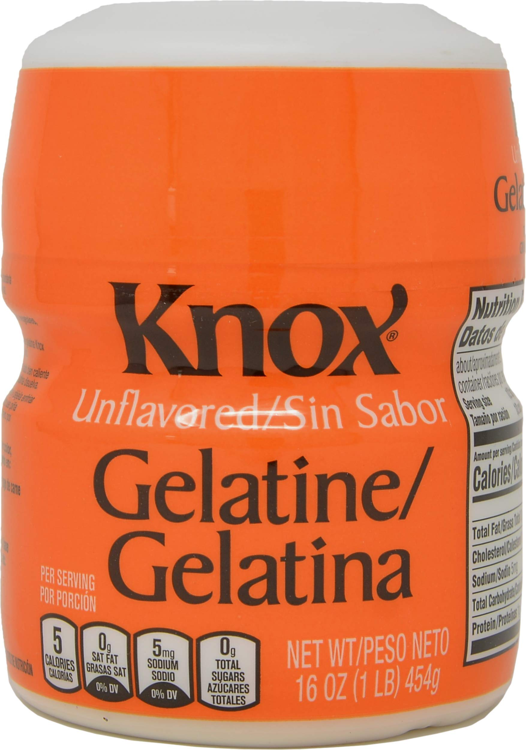 Knox Unflavored Gelatin - 1 lb