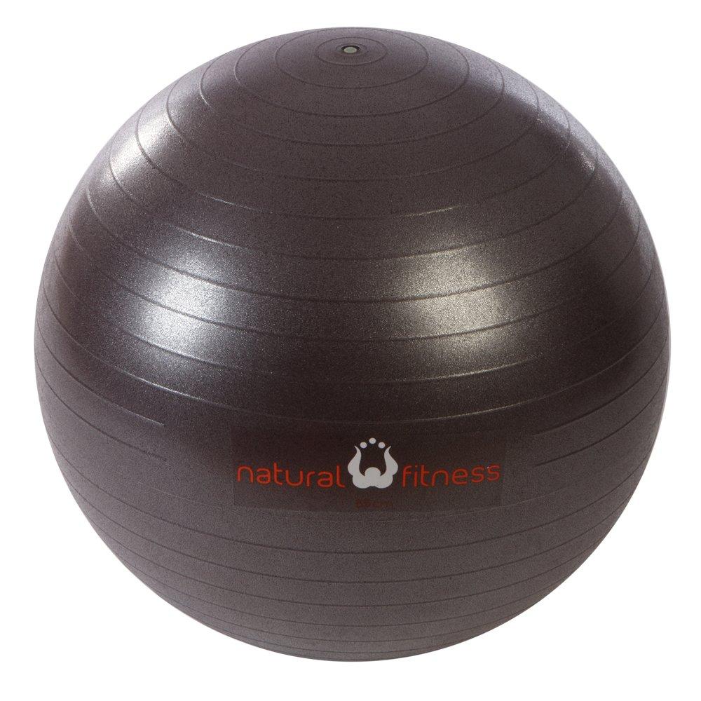 descuento de bajo precio Natural Natural Natural Fitness 55cm Burst-Resistant Exercise Ball (Plum)  clásico atemporal
