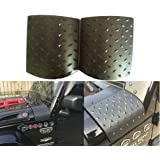 Sunluway 2015 Latest Durable Black Cowl Body Armor - Pair For Jeep Wrangler Rubicon Sahara Jk & Unlimited 2007-2015 (Latest Upgrade Version)