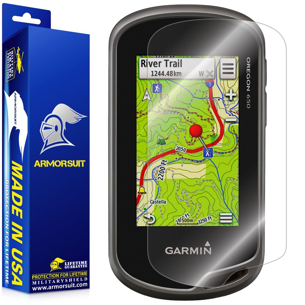 【メール便送料無料対応可】 ArmorSuit MilitaryShield - Garmin MilitaryShield Oregon 600(t) Garmin/ 650(t)GPSスクリーンプロテクターシールド+ Lifetime Lifetime Replacements B00F4J5N7M, イーツォ(supernova):1c886a14 --- arianechie.dominiotemporario.com