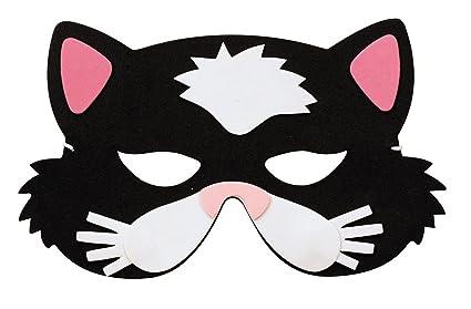 Máscara de gato niño - Única