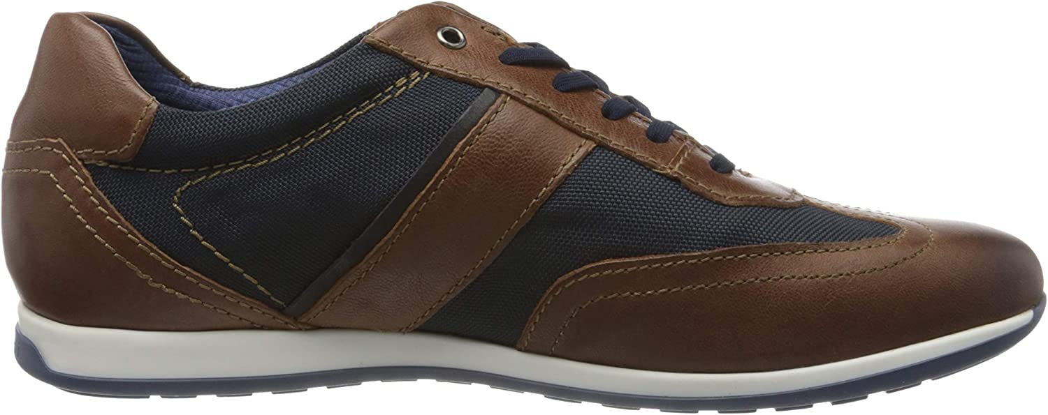 bugatti 311450103069, Sneakers Basses Homme Marron Brown Dark Blue 6041