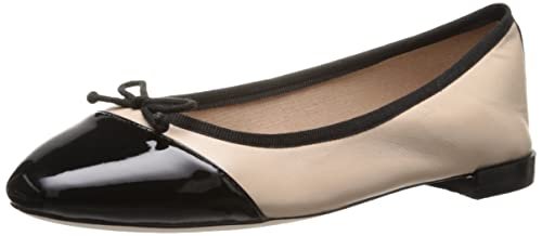 9cf5b5318b Cole Haan Women's Sarina Ballet Froth/Black Patent Flat: Amazon.ca ...
