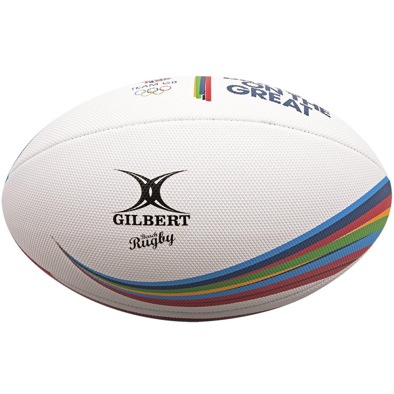 Gilbert Unisex Team GB Supporter - Balón de Rugby para Playa ...