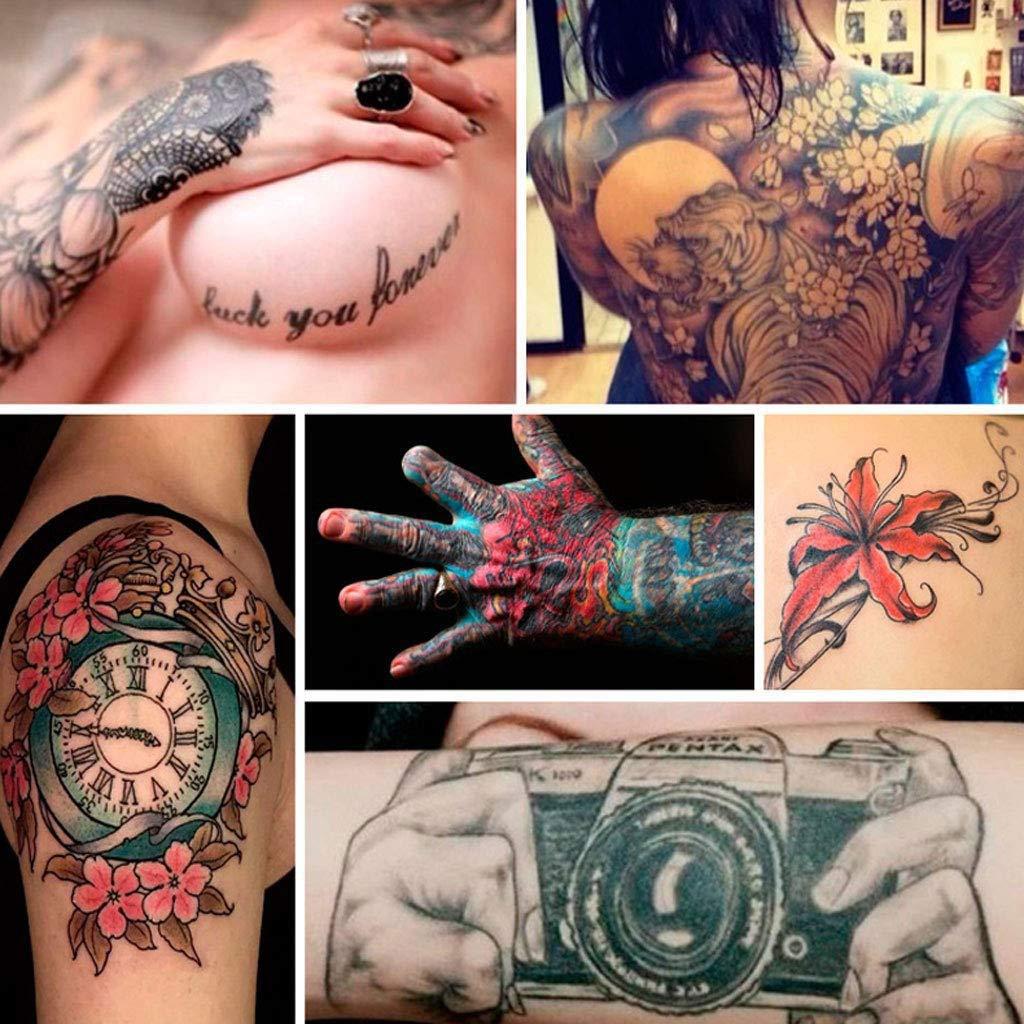 Kit de iniciación para tatuajes para principiantes, conjunto ...